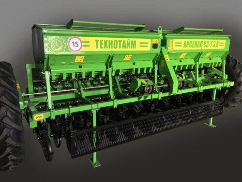 Сеялка зерновая АРСЕНАЛ СЗ-Т 3.6-02