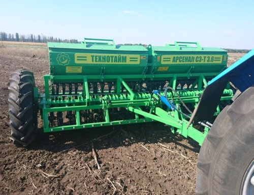 Сельскохозяйственная техника на осень и весну
